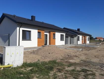 Dom jednorodzinny w zabudowie bliźniaczej w wysokim standardzie ul. Srebrna